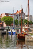 Harbour area, Stralsund, May 24, 2013.