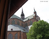 The view out our hotel window in Stralsund, May 24, 2013.