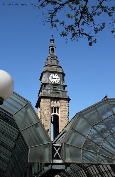 Hamburg Main Transit Station. May 17, 2013.