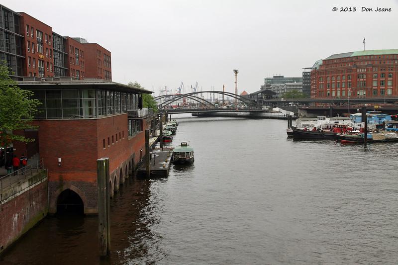 Hamburg canals, May 19. 2013.