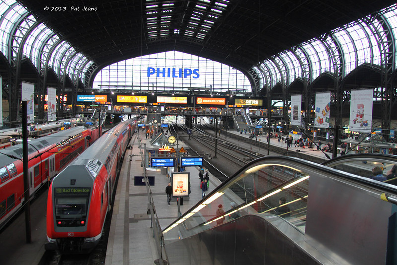 Hamburg Main Transit Station. May 18, 2013. Every trip starts here.