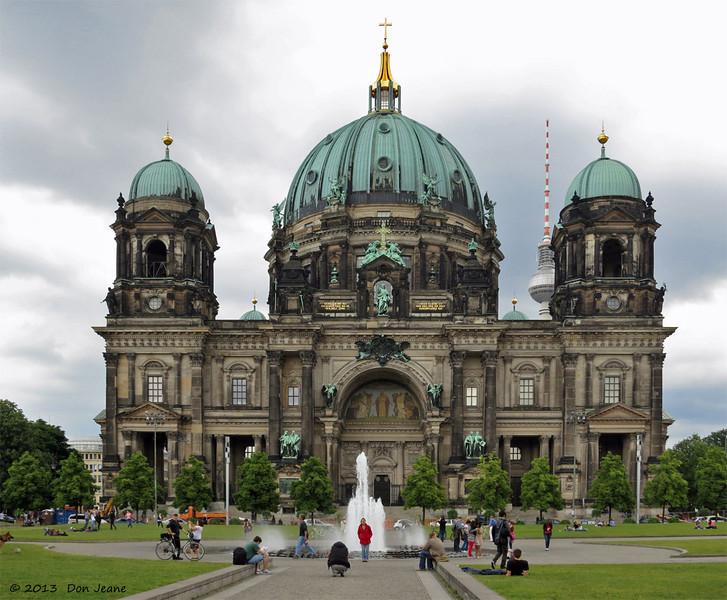 Berlin Cathedral, May 29, 2013.