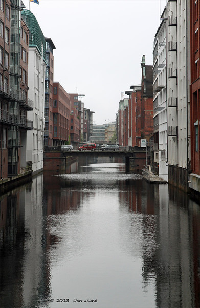 Hamburg canals, May 19. 2013. Back to Hamburg.