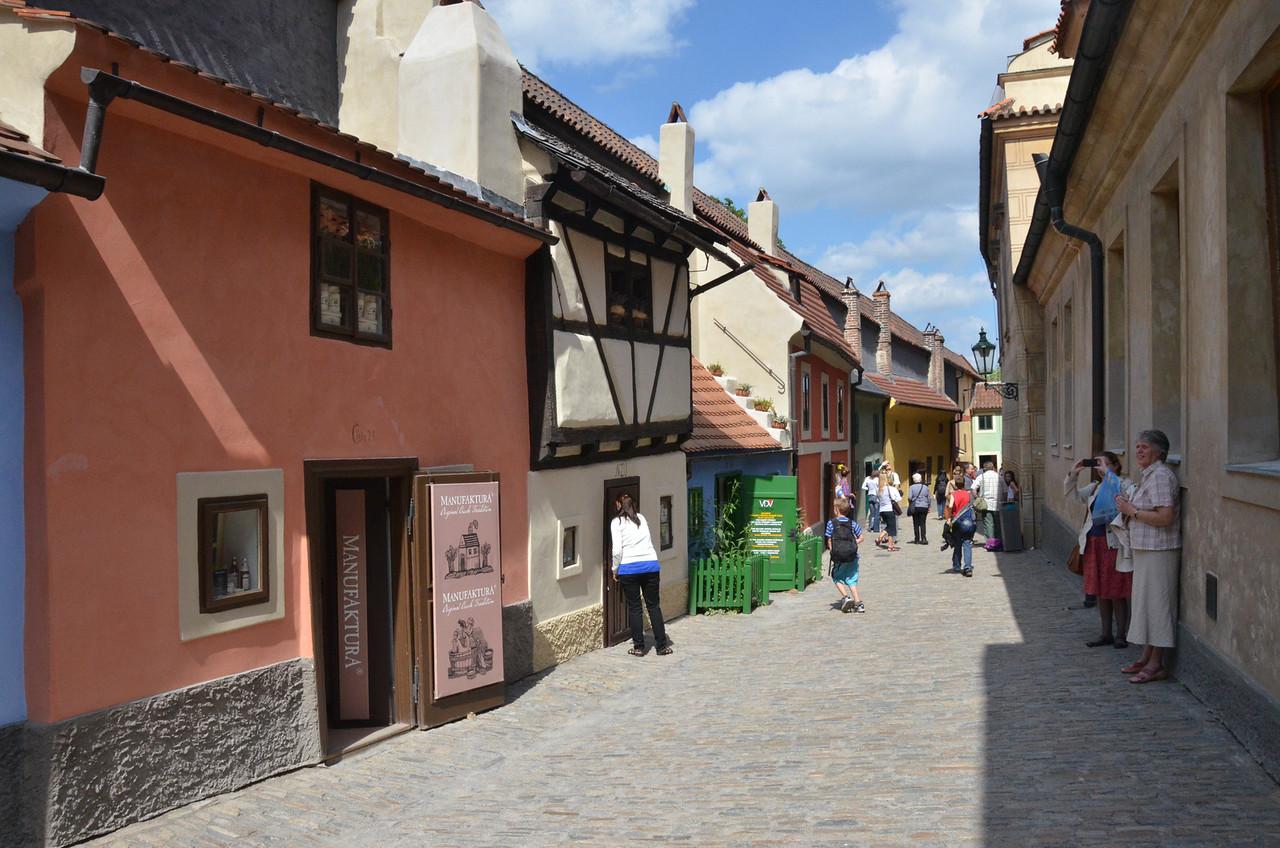 Golden Street, Prague Castle grounds