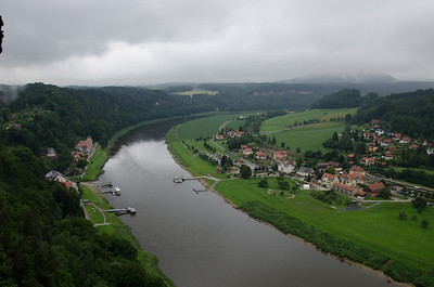 View of the Elbe, Germany