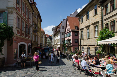 Medieval town of Bamberg.