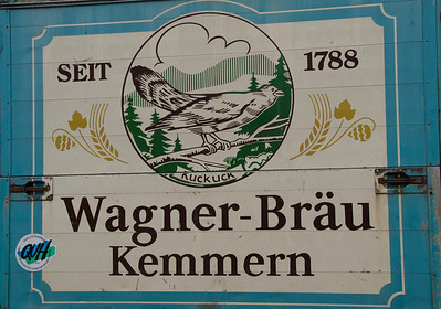 Local brewery of Kemmern village, Franconia, Germany