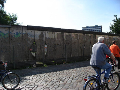 Portion of the Berlin wall