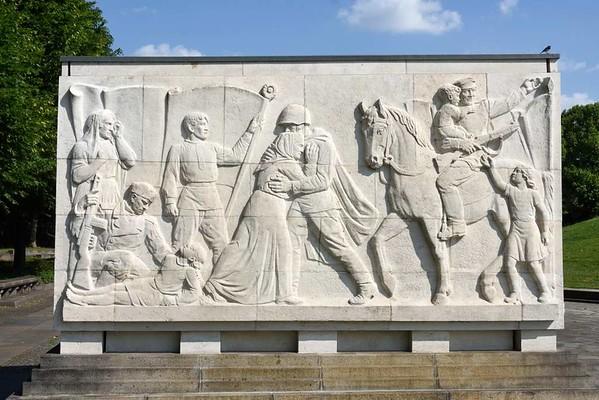 1941 - 1945 Soviet war memorial, Treptower Park, east Berlin, 4 June 2016.