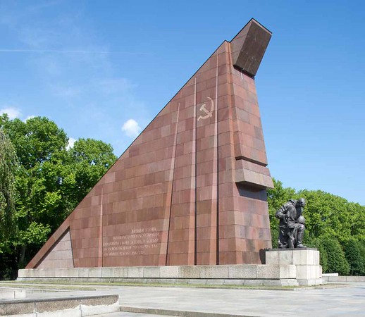1941 - 1945 Soviet war memorial, Treptower Park, east Berlin, 4 June 2016.