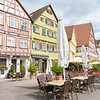 Picturesque small German town of Esslingen
