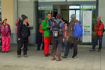 Japanese hikers
