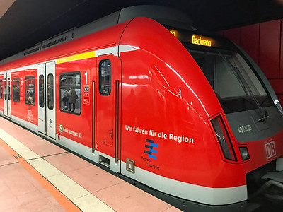 Stuttgart S-Bahn train