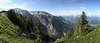 "Panoramic photo taken at ""The Eagle's Nest"" June 26 2015"
