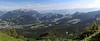 Panoramic photo taken on Mt. Pilatus June 22 2015