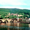 Castle and Old Bridge, Heidelberg, 1976.