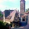 Rothenburg ob der Tauber, 1977.