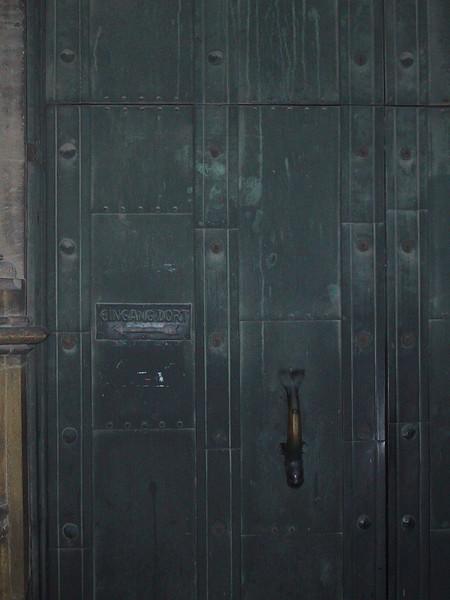Please use other door