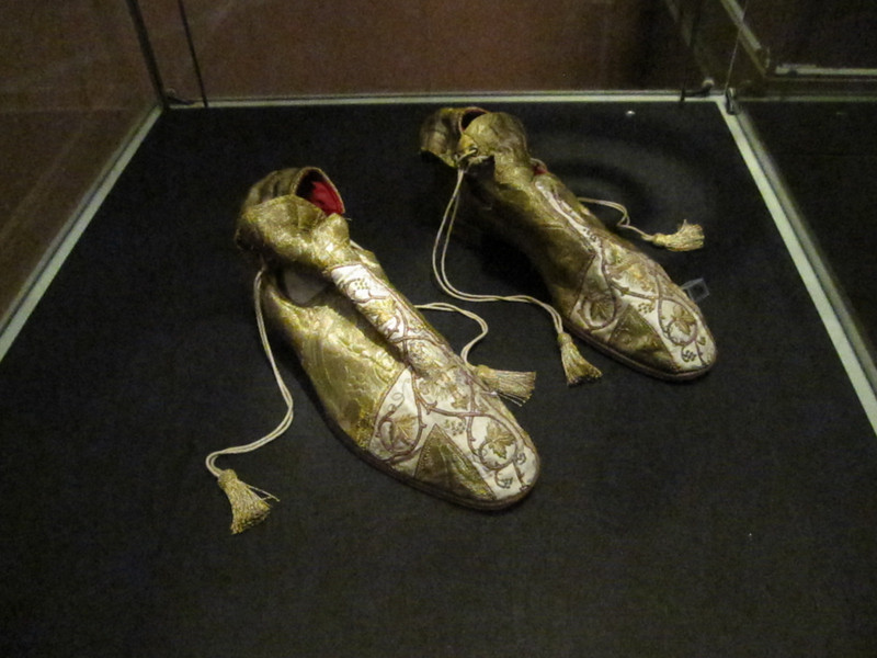 A POPE IN THE 18TH CENTURY WORE THESE SHOES