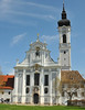 We also went to the little town of Diessen, which boasts this magnificent church. Nobody there but us....