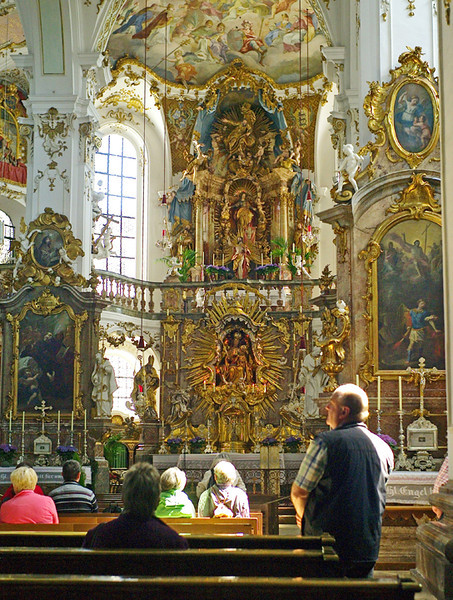 It was pretty obvious that half of Munich hadn't come to visit Andechs' magnificent church....