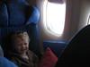 Timmy im Flugzeug
