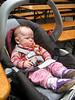 Sarah im Augustiner Biergarten