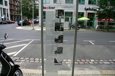 Berlin - August 2007 Berlin Wall line