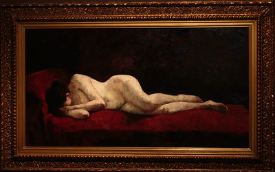 Lying Nude by Liegender Akt 1889