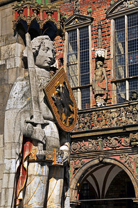 Town hall Bremen and Roland