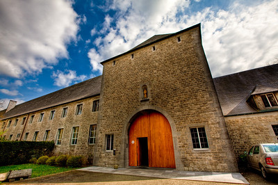 Chimay Monastery in Belgium; where the famous beer is made.
