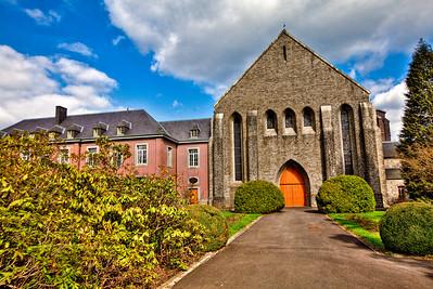 Chimay Monastery in Belgium.