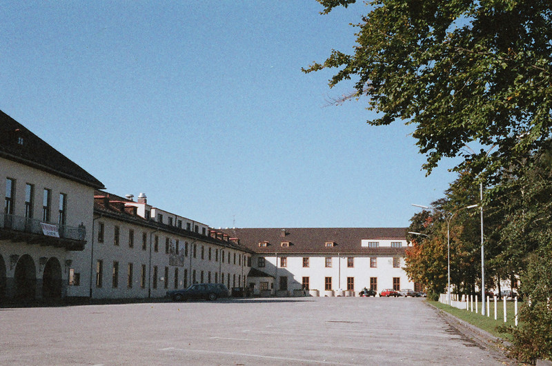 """This shot was taken circa August 1987 -- compare to the 2003 photo or a similar angle (Flint Kaserne, Bad Tolz, """"West Germany"""") -- <a href=""""http://dcsutherland.smugmug.com/gallery/83464_fuemi#2903396_tEBhb"""">http://dcsutherland.smugmug.com/gallery/83464_fuemi#2903396_tEBhb</a>"""