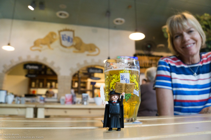 Martin Luther at the Ramstein Hofbrauhaus