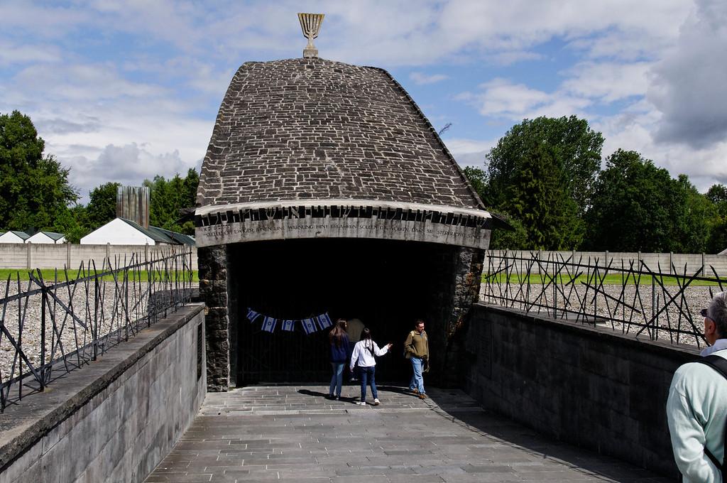 Campo de concentração de Dachau<br /> Jewish Memorial
