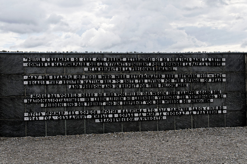 Campo de concentração de Dachau<br /> Memorial to the victims of Dachau