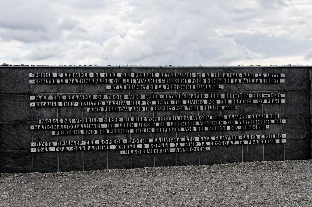 Campo de concentração de Dachau<br /> Memorial to the victims of Dachau