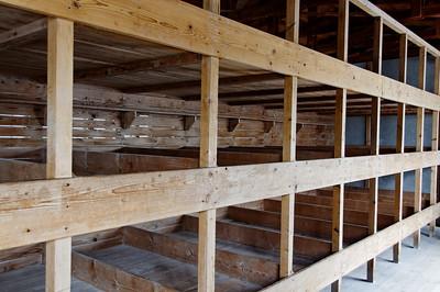 Campo de concentração de Dachau Prisoner bunks
