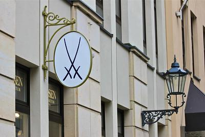 Meissen porcelain store in Dresden