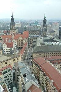 Dresden rooftops