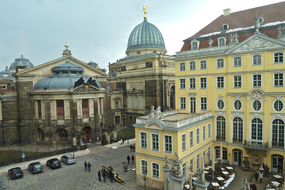 Dresden architecture is a wonder to behold - elegant and refined