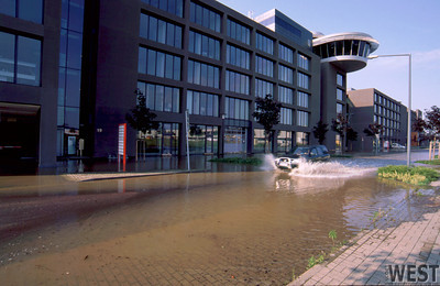 IMS Office during flood