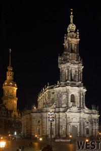 Hofkirche, Dresden Altstadt