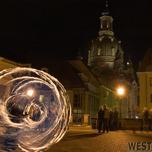 Firedancer  in Altstadt