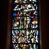 This is a beautiful stained glass window.