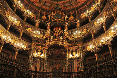 The Margravial Opera House in Beyreuth