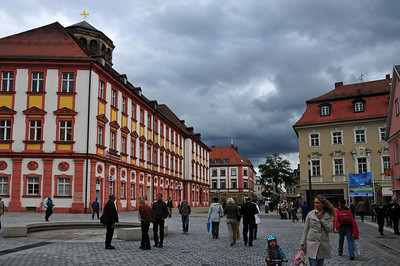 Late afternoon visit to Bayreuth after climbing - Altes Schloss