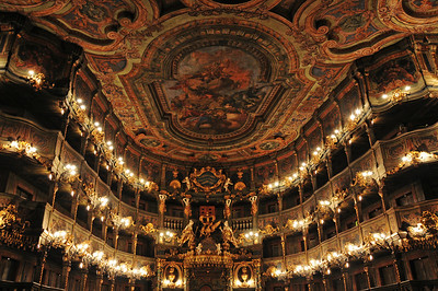 The Margravial Opera House was opened in 1748 and is one of the finest Baroque theatres in Europe.