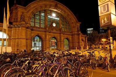Central Station Frankfurt Germany