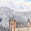 Snowy Mountain in Germany